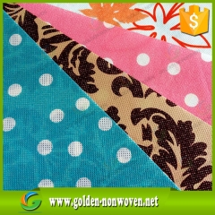 Printing Nonwoven Fabric, Eco Bag Material ,Logo Printing Nonwoven