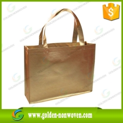 Colored Customized Logo Laminated Non Woven Bag