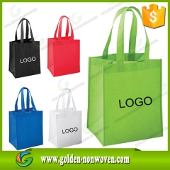 80GSM PP Non woven Shopping Bag TNT Bags made by Quanzhou Golden Nonwoven Co.,ltd