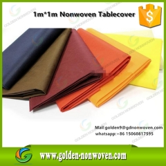 50GSM PP Nonwoven Table Runner 100X100CM