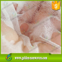 Hydrophlic Nonwoven Fabric For Wet Tissue made by Quanzhou Golden Nonwoven Co.,ltd