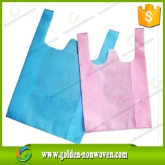 PP Nonwoven Shopping Vest Bag Factory