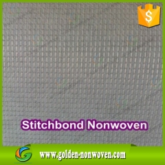 65-100gsm Stitched Non woven Fabric for shoe lining made by Quanzhou Golden Nonwoven Co.,ltd