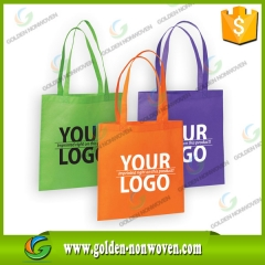 Eco Handle Style PP Non woven Shopping Bag made by Quanzhou Golden Nonwoven Co.,ltd