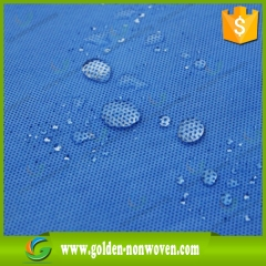 Hydrophobic SMMS Nonwoven Bed Sheet Fabric