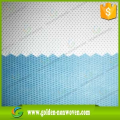 Biodegradable SMMS Nonwoven Operation Gown Fabric Roll