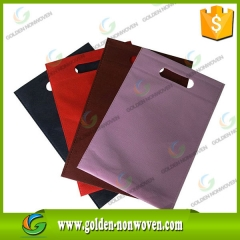 Factory Price D-Cut Nonwoven Bag