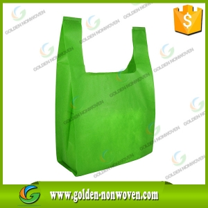 Nonwoven T-shirt Bag Vest Shopping Bag