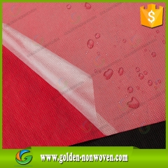 PP Spunbond Nonwoven Fabric With Lamination For Sale made by Quanzhou Golden Nonwoven Co.,ltd