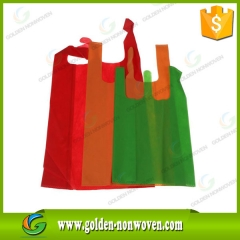 Nonwoven T-shirt Shopping Bag