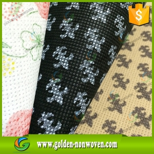 Printing Non Woven Fabric For Printed Non Woven Bag made by Quanzhou Golden Nonwoven Co.,ltd