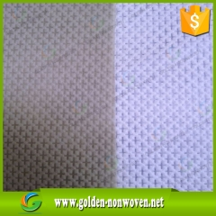 wholesale cross pattern nylon cambrelle,manufacturing nylon nonwoven fabric made by Quanzhou Golden Nonwoven Co.,ltd