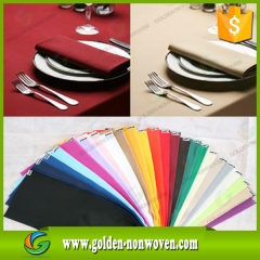 100% Biodegradable Wholesale Non woven Tablecloth