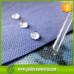 ISO Certification and Embossed Hydrophobic SMS Nonwoven Fabric