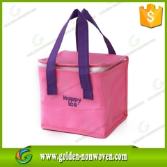 Non Woven Polyester Frozen Food Lunch Cooler Bag