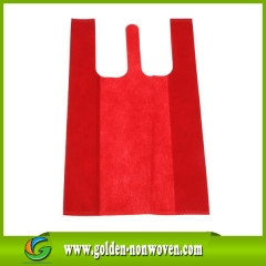 PP nonwoven tote  bag 45gsm t shirt shopping bag