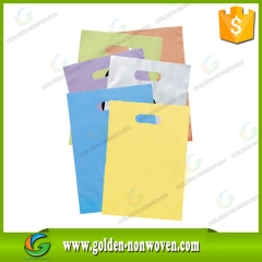 D Cut Non Woven Bags Die Cut Shopping Bag