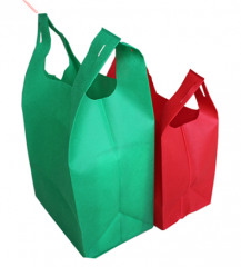 Nonwoven Fabric Bag, Custom T Shirt Non Woven Bag, Big Non Woven Waist Shopping Bag