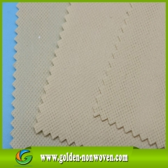 100% biodegradable pla nonwoven /pla non woven fabric made by Quanzhou Golden Nonwoven Co.,ltd