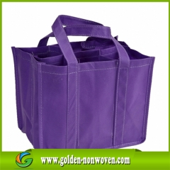 One Box Wine Non Woven Bag With Any Color