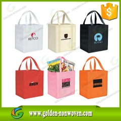 printed nonwoven cheap promotional tote bags