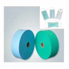 face mask materail 25gsm pp spunbond nowoven fabric mask fabric made by Quanzhou Golden Nonwoven Co.,ltd